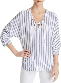 Rails Womens Woven Striped Blouse