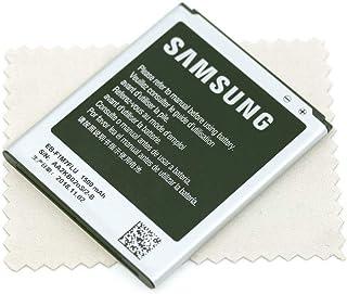 Batería para Samsung Original EB-F1M7FLUCSTD para Samsung i8190 Galaxy S3 Mini i8200 Galaxy S3 Mini Value ED con paño de Limpieza mungoo