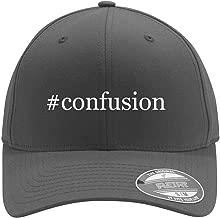 #confusion - Adult Men's Hashtag Flexfit Baseball Hat Cap