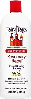Fairy Tales Rosemary Repel Lice Shampoo - Daily Kids Shampoo (12 Fl Oz) & Conditioner (8 Fl Oz) Duo for Lice Prevention