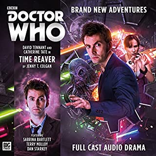Couverture de Doctor Who - The 10th Doctor Adventures - Time Reaver