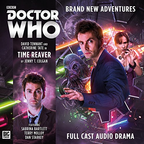 Doctor Who - The 10th Doctor Adventures - Time Reaver audiobook cover art