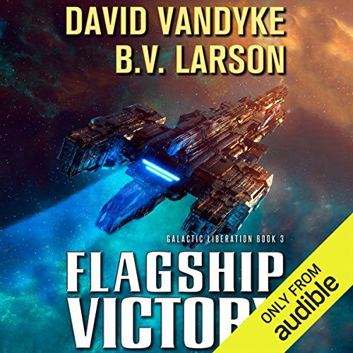 Flagship Victory audiobook cover art