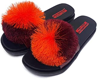 NEW AMERICAN Multi Colour Rubber Slippers for Girls and Women