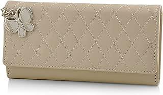 Butterflies Women's Wallet (Cream) (BNS 2387CRM)