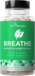 Breathe Sinus & Lungs Breathing– Seasonal Nasal Health, Immune Support, Open & Clear Airways, Bronchial Wellness, Healthy ...