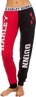DC Comics Harley Quinn Women's French Terry Pajama Pants- XLarge