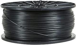 Monoprice PLA Premium 3D Printer Filament - Black - 1kg Spool, 3mm Thick