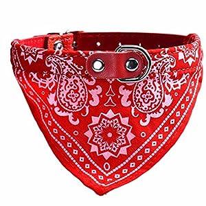 Chien Foulard, Artistic9(TM) réglable pour animal domestique Chien Chiot Chat col écharpe Collier bandana Foulard