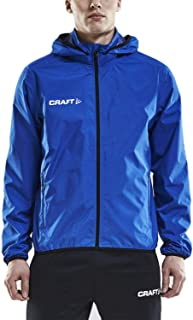 Men's Waterproof Rain Jacket – Light Windbreaker with...