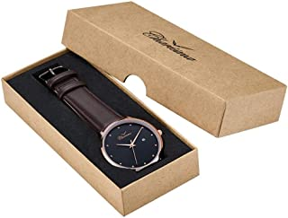 Charisma Dress Watch For Men Analog Leather - C1005BRRB
