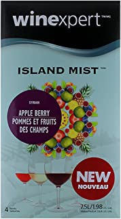 Island Mist Apple Berry Mist Syrah Wine Kit by Winexpert