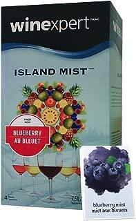 Island Mist Blueberry Pinot Noir BONUS KIT Includes Labels