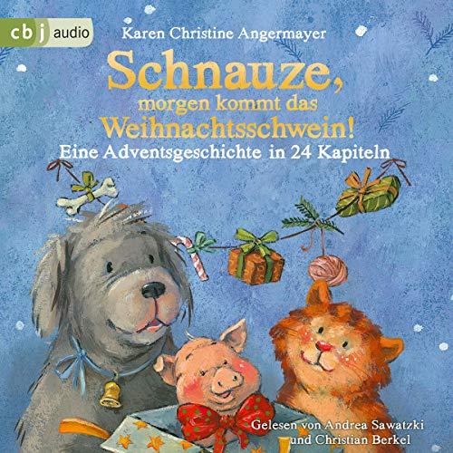 Schnauze, morgen kommt das Weihnachtsschwein! Eine Adventsgeschichte in 24 Kapiteln cover art