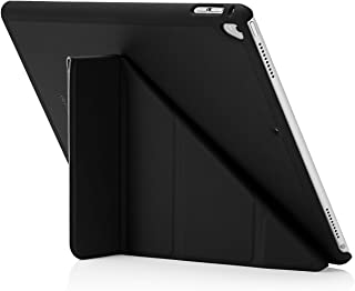 "Pipetto Origami iPad Case Pro 12.9"" (2nd Gen) with 5 in 1 Stand & auto Sleep/Wake Function Black"