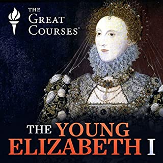 The Young Elizabeth I audiobook cover art