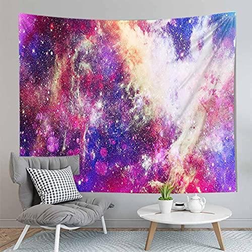 PPOU Galaxy psichedelico arazzo appeso a parete galassia spazio Modello decorazione Della parete di casa arazzo coperta sfondo panno A9 130x150 cm