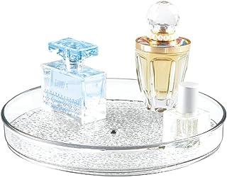 mDesign talerz obrotowy – obrotowy organizer na kosmetyki
