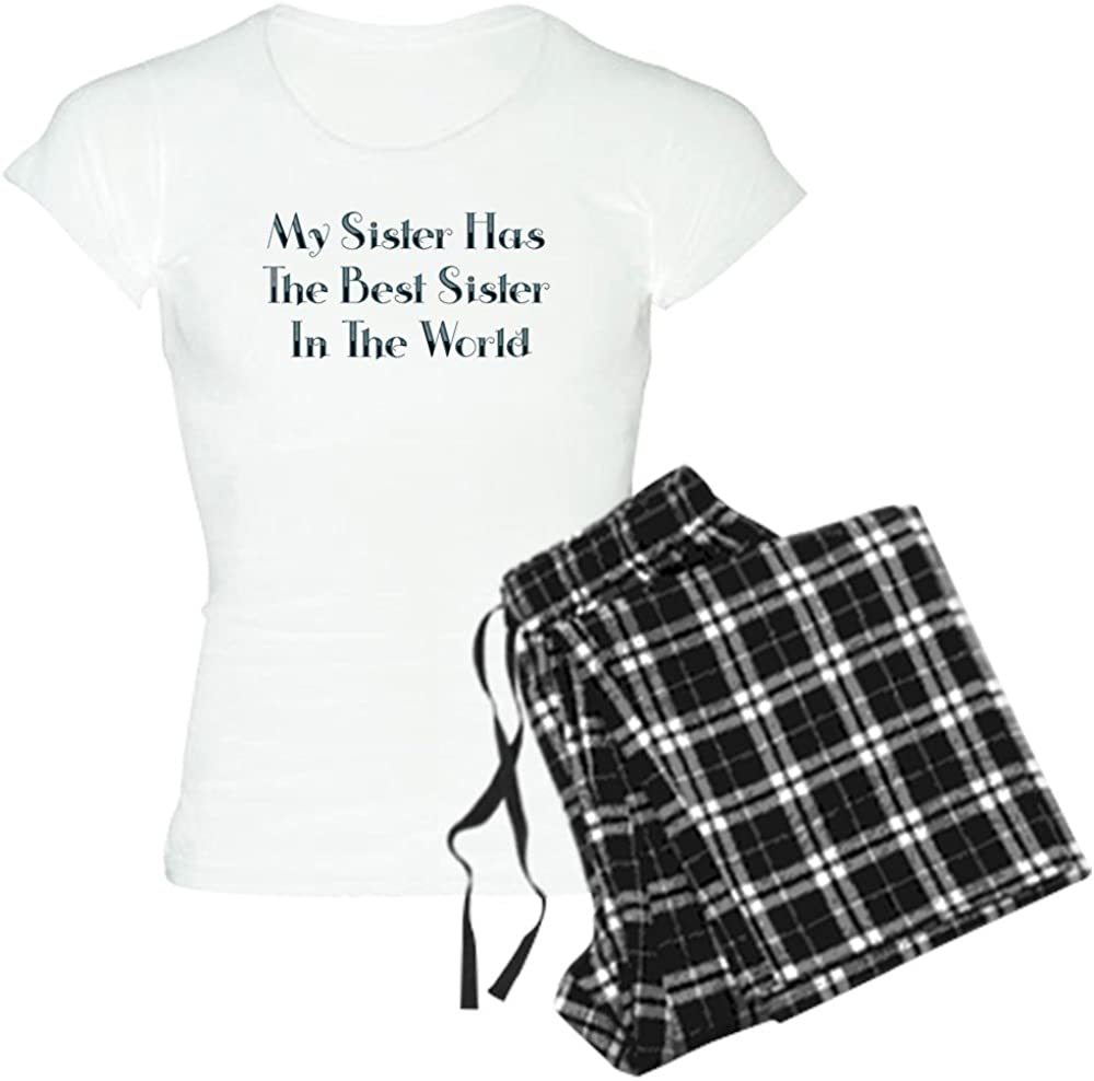 CafePress Best Sister in The World Mail Arlington Mall order cheap Light Women's PJs