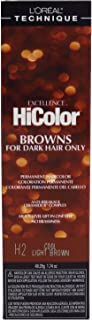 Loreal Excellence Hicolor H02 Tube Cool Light Brown 1.74 Ounce (51ml) (2 Pack)