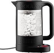 Bodum 11659-01EURO Bistro elektrische kook, dubbelwandig met temperatuurregeling, kunststof, 19,5 x 23 x 26,5 cm, zwart