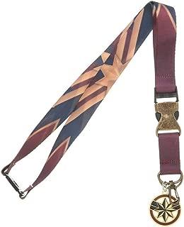 Marvel Accessories Captain Marvel School ID Employee Badge Lanyard Keychain
