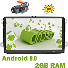 doble Din GPS estéreo 9 pulgadas,sistema Android 9.0,2GB