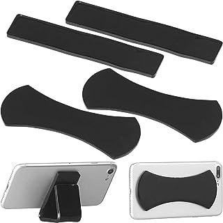 Callstel Haftpad: 4er Set Anti Rutsch Pads für Smartphone und Tablet PC, selbstklebend (Antirutsch Pads)