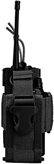 Tactical Radio Holder Radio Case Molle Radio Pouch MilitaryHeavy Duty Radios Holster Bag for Two Ways Walkie Talkies Comp...