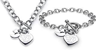 Best tiffany necklace and bracelet set Reviews