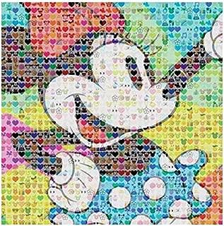 Ceaco Disney - Emoji Puzzle - 300 Piece - Minnie Mouse Puzzle