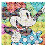 Ceaco Disney Emoji Minnie Mouse Jigsaw Puzzle, 300 Pieces Multi-colored, 5'