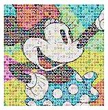 Ceaco Disney Emoji Minnie Mouse Jigsaw Puzzle, 300 Pieces Multi-colored, 5'