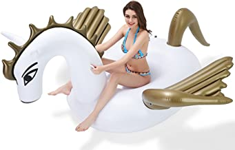Vickea Giant Inflatable Unicorn Sprinkler, Perfect for Party Fun