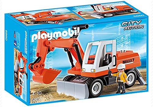 PLAYMOBIL City Action 6860Baufigur–BAU Figuren, Mehrfarbig, Kinder/Mädchen