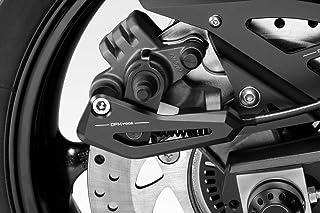 Accessoires De Pretto Moto MT07 FZ07 2018 - 100/% Made in Italy - Fender Ailes Arri/ère en Aluminium Visserie Inclus DPM R-0867 Kit Garde Boue