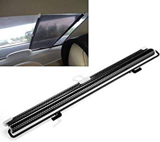 FidgetKute Car Side/Rear Window Sunshade Curtain Roller Blinds Automatic Rolling Shield - coolthings.us
