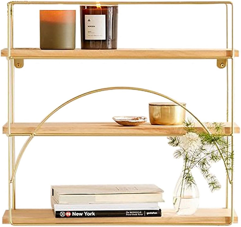 Storage rack LOFT wall mount cubic shelf bookshelf Geometric racks iron Separator Floating unit frame Wall decoration Design retro industrial style Shelf ( Size   501555cm )