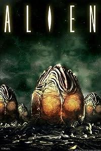 Pyramid America Alien 1979 Xenomorph Eggs Horror Science Fiction Classic Retro Cool Wall Decor Art Print Poster 12x18