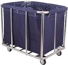 Waskar Verwijderbare, Wasboxen Kar Met Wielen, Oxford Stoffen Tas Wassorteerder Mand, Commerciële Hotelwascontainers, Voor...
