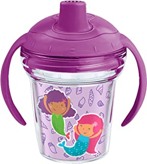 Tervis 1246075 Mermaid in Training 6 oz Sippy Cup with lid, Clear
