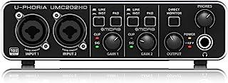Behringer UMC202HD - U-phoria interface de audio/midi usb umc-202hd