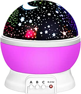 OPOO 14543014 2-12 Year, Day Night Light Moon Star Best Easter Kids 7-12 Year Boy Gifts Toys for 3-12 Year Old Girls Purple