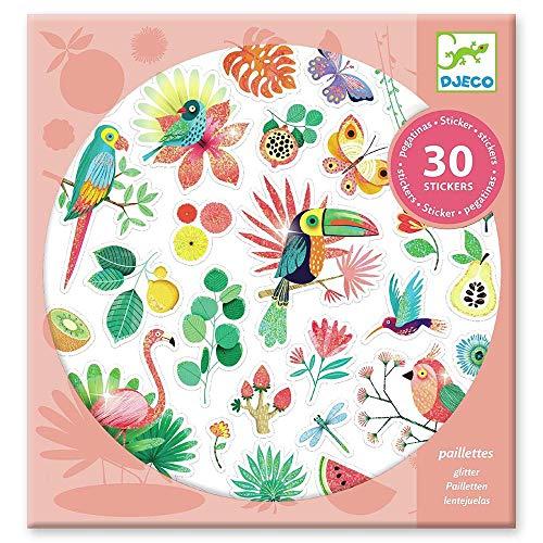 DJECO Paradiso Sticker Luftballons UNISEX-INFANTIL, mehrfarbig (39260)
