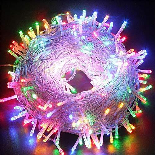 Fairy LED String Light Outdoor impermeable Holiday String Garland Navidad Navidad Decoración para banquete de boda Light String A3 1m10 leds batería