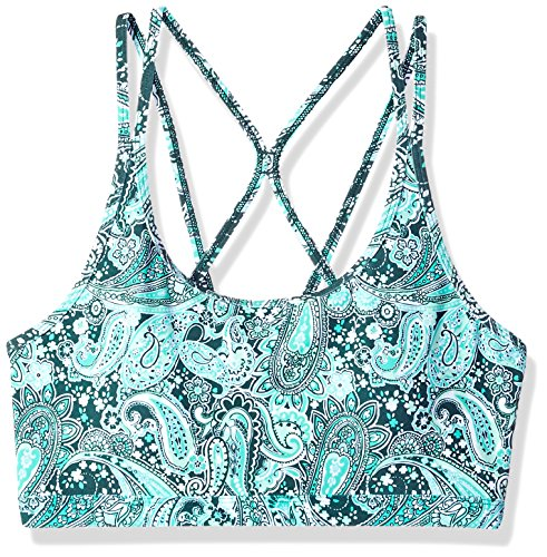 Lorna Jane Damen Paisley Dream Sport-BH XX-Small Paisley-Traum-Print