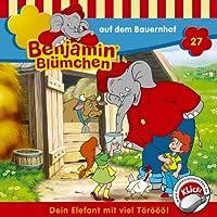 Benjamin auf dem Bauernhof (Benjamin Blümchen 27) Hörbuch