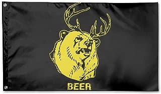 bear deer beer flag
