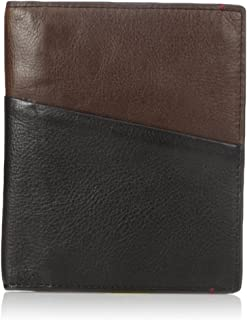 Fossil Men's RFID Blocking Leather Passport Case, Black, One Size