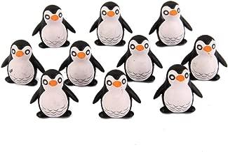 Lot de 10pcs Petit Pingouin Miniature Décor pour Micro Paysage Bonsaï DIY Bricolage